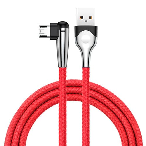 Baseus sharp-bird mobile game cable USB For Micro 1.5A 2M Red