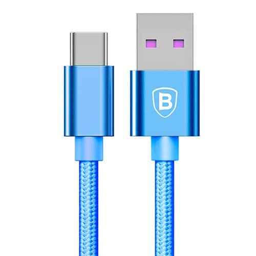 Baseus Speed Type-C QC Cable For HUAWEI Type-C Blue