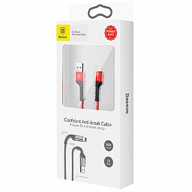 Baseus Confidant Anti-break Cable For IP 2A 1.5M Red