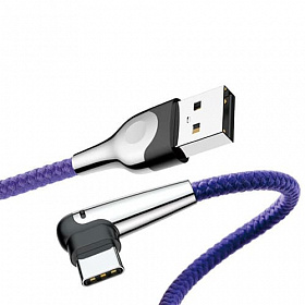 Baseus sharp-bird mobile game cable USB For Type-C 2A 2M Blue